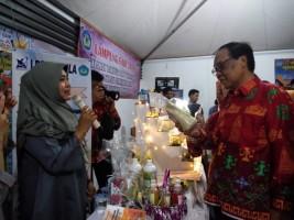 Unila Tampilkan Produk Inovatif Mahasiswa di Lampung Fair