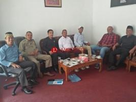 Usai Dilantik, Baru 7 Anggota DPRD Lambar yang Ngantor