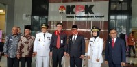 Usai Dilantik Presiden, Gubernur dan Wagub Lampung Sambangi KPK