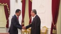 Usai Dilantik, Presiden Menjamu Tamu Negara