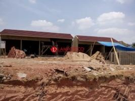 Usai OTT Bupati Lampura, Pembangunan Pasar Bermasalah Tetap Berjalan