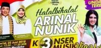 Via Vallen akan Ramaikan Halal Bihalal Arinal-Nunik