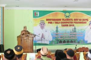 Wabup Eriawan Buka MTQ Korpri Tingkat Kabupaten
