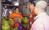 Wabup Fauzi Sidak Ketersediaan Gas 3 Kg Jelang Idulfitri