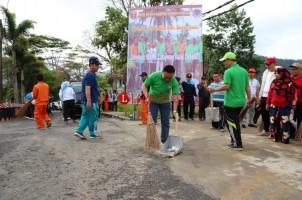 Wabup Lambar Ajak Masyarakat Peduli Kebersihan Sampah