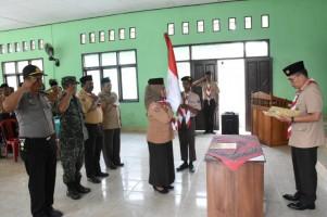 Wabup Lampung Timur Melantik Pengurus Baru Majelis Pembimbing Ranting Pramuka