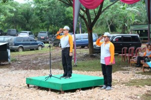 Wabup Lamtim Pimpin Apel Peringatan Hari Air Dunia ke 27