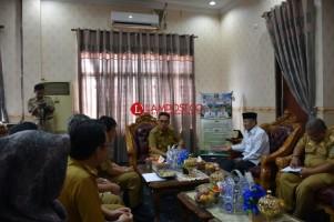 Wabup Lamtim Terima Kunjungan Kerja Ketua PMI Provinsi Lampung
