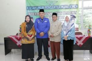 Wabup Pringsewu Fauzi Beri KuliahUmum Manajemen Pemerintahan di UIN