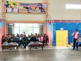 Wabup Tulangbawang Buka Turnamen Futsal di GOR Tiyuh Tohow