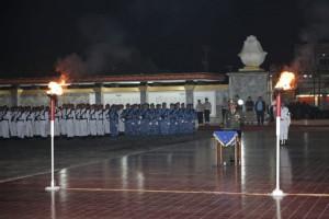Wagub Nunik Pun Berkhidmat di Atas Pusara Para Pahlawan