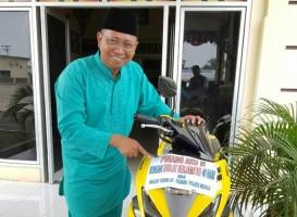 Wah, Kapolres Siapkan Hadiah Motor Bagi Jajarannya Yang Rajin Salat 5 Waktu di Masjid Mapolres Mesuji
