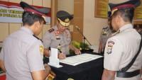Wakapolda Lampung dan Dirlantas Resmi Berganti