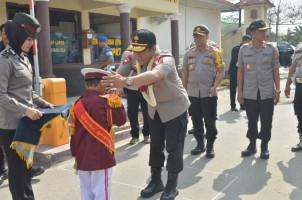 Wakapolda Lampung Kunjungi Polres Tuba