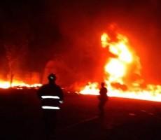 Wakapolda Minta Kapolres Lidik Kebakaran Tempat Penyimpanan BBM