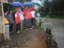 Wakil Bupati Bersama Tim Terjun Langsung Tinjau Lokasi Banjir di 2 Kecamatan