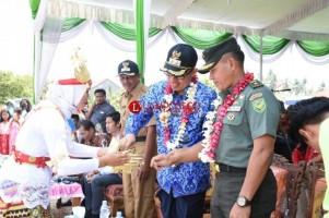 Wakil Bupati Lamtim Buka Festival Mangrove dan Nadran