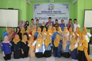 Wakil Bupati Pringsewu BukaPelatihan Kader PMII