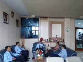 Wakil Bupati Way Kanan Bertandang ke KPPN Kotabumi