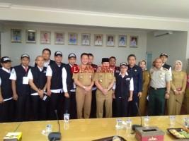 Wali Kota Apresiasi Tim Relawan Gempa Lombok