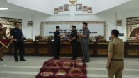Wali Kota Herman HN Sampaikan Laporan Pertanggungjawaban Anggaran 2018