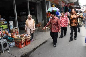 Wali Kota Minta Parkiran Pasar Tengah Bandar Lampung Tertata