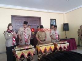 Wali Kota Resmikan GSG Pramuka Kwarcab Bandar Lampung
