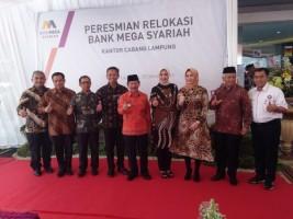 Walikota Herman HN Resmikan Kantor Cabang Bank Mega