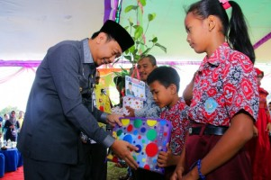 Warga Abung Surakarta Nantikan Kunjungan Bupati Lampura