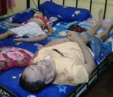 Warga Cimanuk Digegerkan Penemuan Bapak-Anak Bersimbah Darah Tak Bernyawa di Kamar