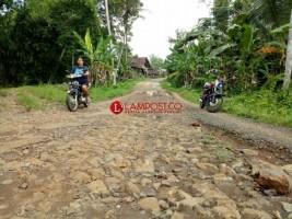 Warga Desa Pasuruhan TagihJanji PT.PP Terkait Perbaikan Jalan