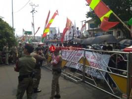 Warga Eks Pasar Griya Sukarame Kembali Demo Pemkot