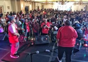 Warga Indonesia di Los Angeles Deklarasi Dukung Jokowi-Ma'ruf