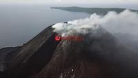 Warga Kalianda Dikagetkan Debu Hitam Diduga dari Abu Vulkanik GAK