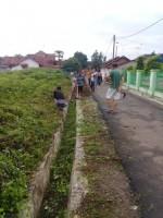 Warga Kelurahan Tanjungharapan Gelar Gotong Royong