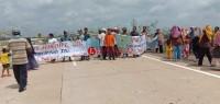 Warga Kupangcurup Ancam Blokir Tol Bakauheni-Terbanggi