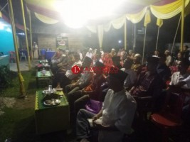 Warga Lampura Isi Akhir Tahun dengan Doa Bersama