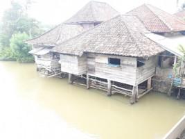 Warga Panaragan Khawatir Bencana Banjir Datang dari Bendungan