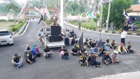 Warga Pesawaran Protes Pembangunan Tambak Udang di Pesawaran
