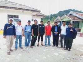 Warga Pulau Legundi Dapat Bantuan Instalasi Air Bersih dan MCK