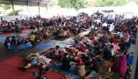 Warga Pulausebesi Direkolasi ke Tempat Lebih Aman