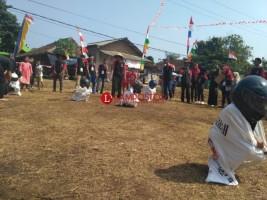 Warga Rajabasa Gelar Perlombaan Tradisional Meriahkan HUT Ke-73 RI