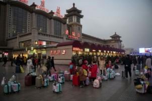 Warga Tiongkok Memulai Tradisi Mudik Imlek