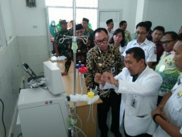 Warga Way Kanan Sudah Bisa Operasi Katarak, Cuci Darah dan Unit Tranfusi Darah di RSUD Zainal Abidin