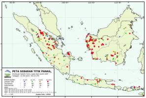 Waspada, Dua Titik Panas Terpantau di Lampung