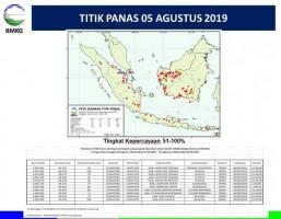 Waspada, Lampung Dikepung 11 Titik Panas
