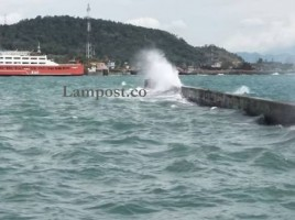 Waspadai Tinggi Gelombang di Perairan Wilayah Lampung