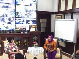 Winarti dan Jajaran Studi Banding ke Kota Bu Risma