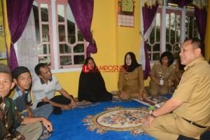 Winarti Kunjungi Keluarga Korban Tenggelam