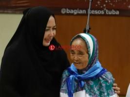 Winarti Lepas 286 Jamaah Haji Tulangbawang